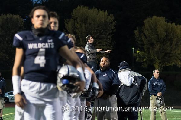 2016 Varsity Football Homecoming vs. St. Helens