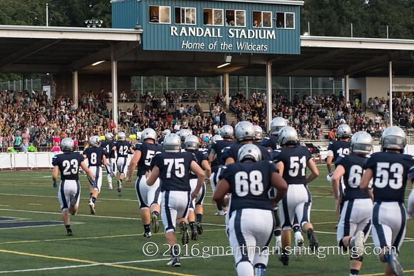 2016 Varsity Football vs. Hillsboro