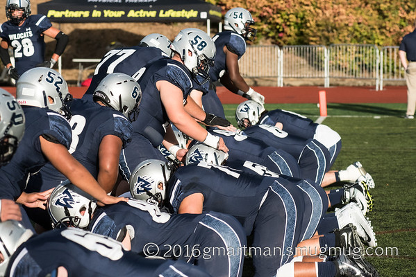 2016 Varsity Football vs. South Medford