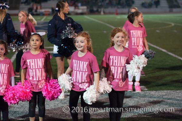 2016 Varsity Football vs. Thurston Senior Night Halftime Cheer and Dance