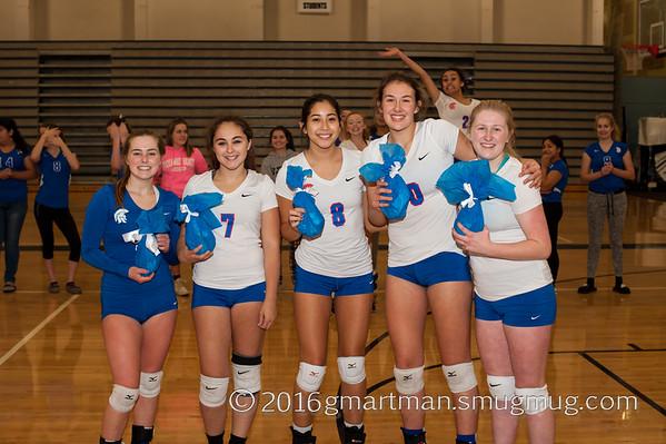2016 Varsity Volleyball vs. Hillsboro