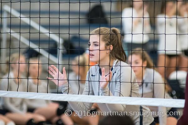 2016 Varsity Volleyball vs. Milwaukie