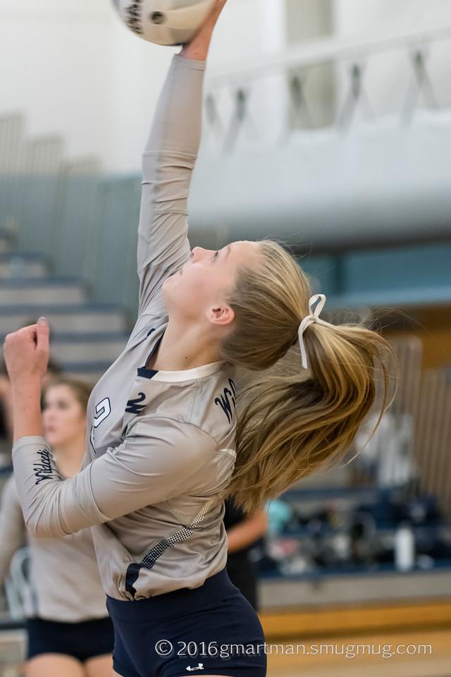 2016 Varsity Volleyball vs. Sandy
