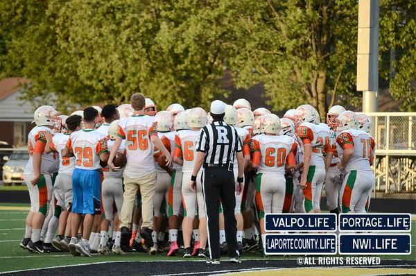 Football: Wheeler Bearcats vs. Griffith Panthers 2016