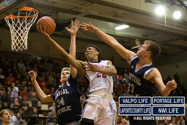 IHSAA Boys Basketball Semi-State 2017 Lafayette Central Catholic vs. 21st Century – Gary 2017