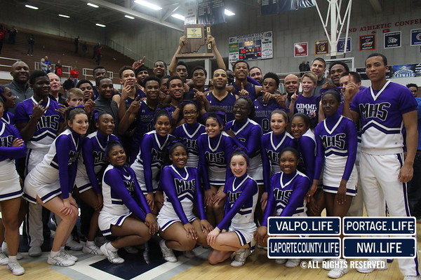 Merrillville vs Crown Point Sectional Championship 2017