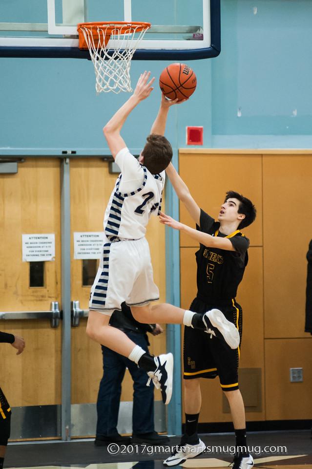 2017 Boys JV Basketball vs. St. Helens