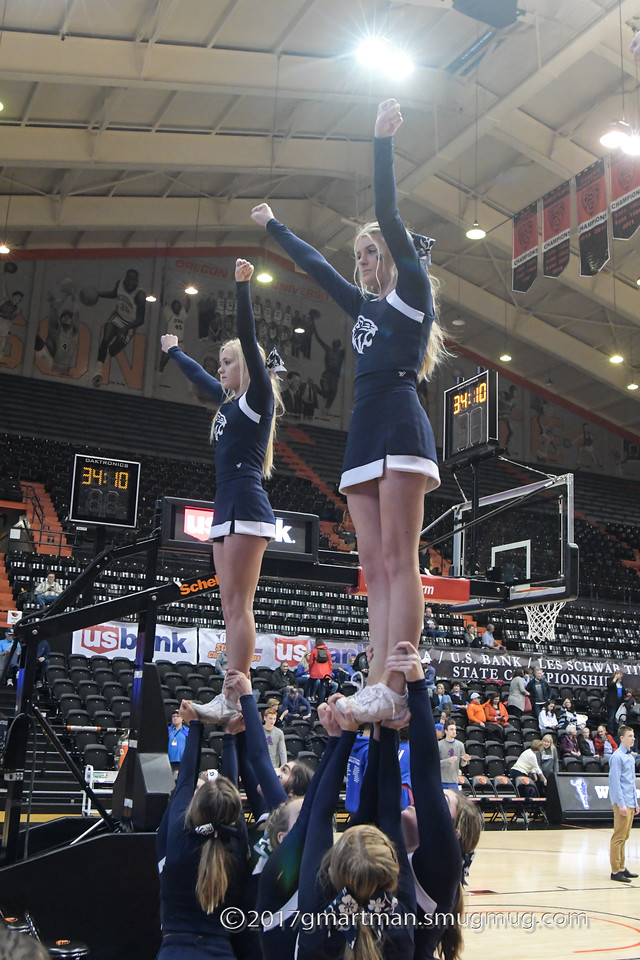 2017 Cheer - Boys State Basketball Semi's and Finals