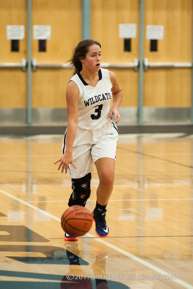 2017 Girls JV and Varsity Basketball vs. La Salle - Senior Night