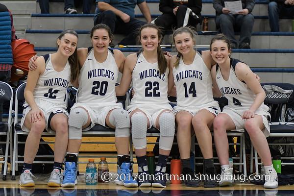 2017 Girls Varsity Basketball vs. Ridgeview - Play-In
