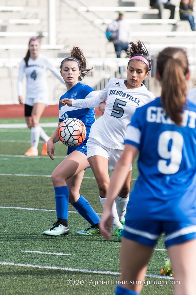 2017 Girls Varsity Soccer vs. Grant