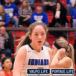 Chesterton vs Valparaiso Girls Basketball 2018