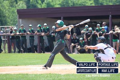 Varsity Baseball Chesterton vs Valparaiso Sectional Championships 2018