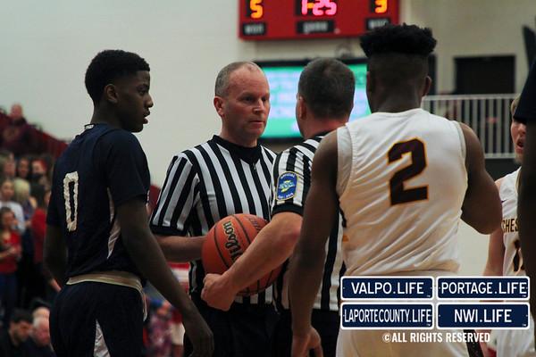 IHSAA Boys Basketball Sectionals SEMIFINALS Michigan City vs. Chesterton 2019