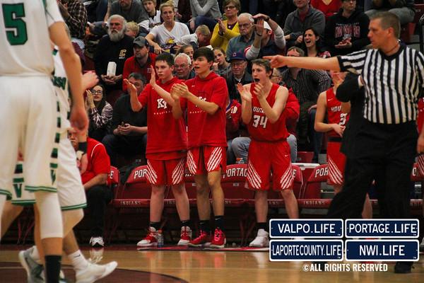 IHSAA Boys Basketball Sectionals SEMIFINALS Kankakee Valley vs. Valparaiso 2019