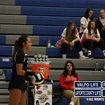 Hobart Vs Valparaiso Volleyball Sectionals 2018