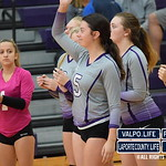 Chesterton Vs Michigan City Volleyball Sectionals 2018