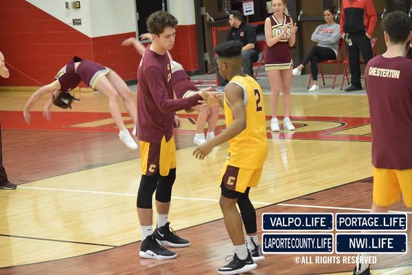 IHSAA Boys Basketball Sectionals Chesterton vs. Portage 2019