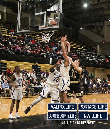 IHSAA Boys Basketball Sectionals Griffith vs. Hammond 2019