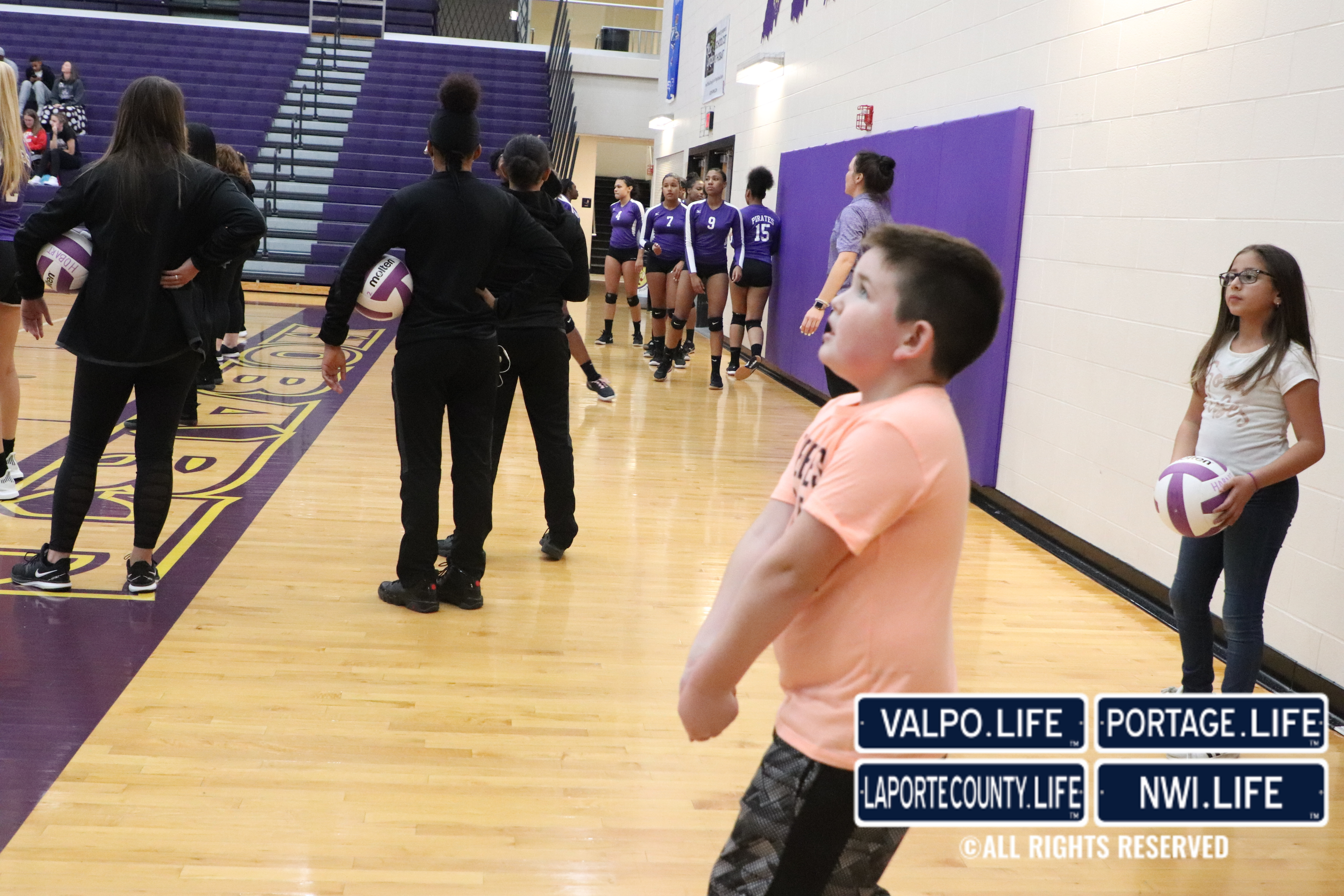 Merrillville vs Michigan City Volleyball Sectionals 2018