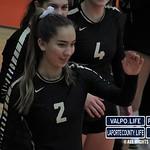 Hobart Vs Valparaiso Volleyball Sectionals 2018