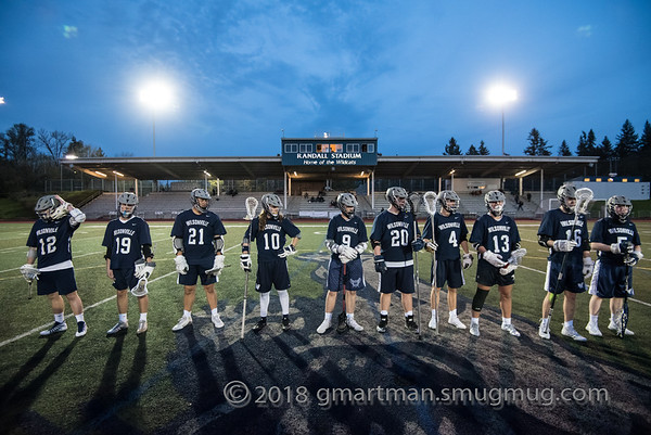 2018 Boys Varsity Lacrosse vs. Oregon City