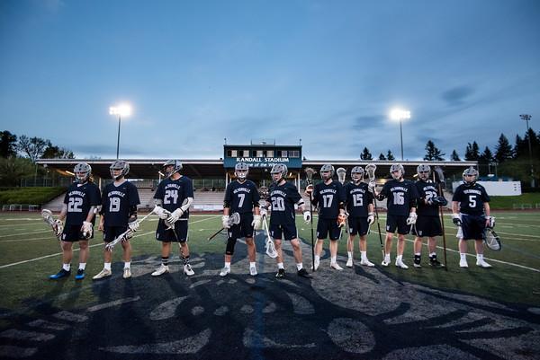 2018 Boys Varsity Lacrosse vs. Wilson