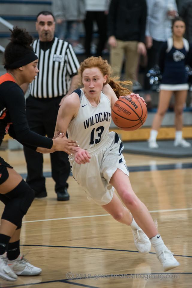 2018 Girls Varsity Basketball Playoffs vs. Crater