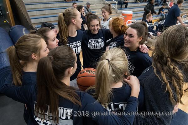 2018 Girls Varsity Basketball vs. LaSalle