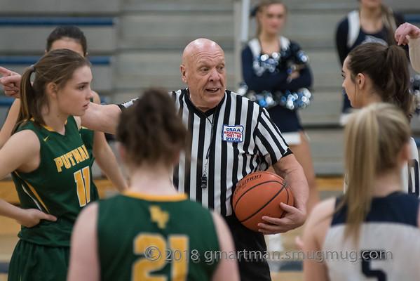 2018 Girls Varsity Basketball vs. Putnam
