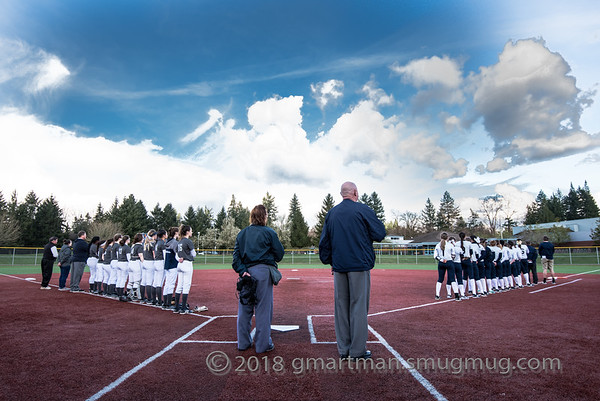 2018 Varsity Softball vs. Hood River Valley