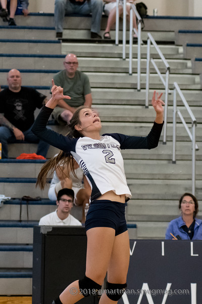 2018 Varsity and JV Volleyball vs. Scappoose