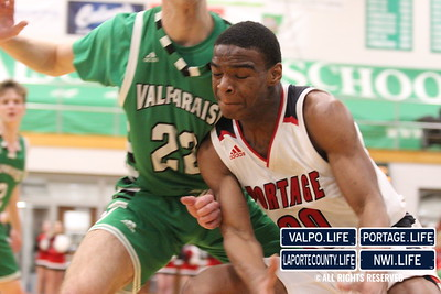 BOYS BASKETBALL SECTIONALS Valparaiso VS Portage 2020