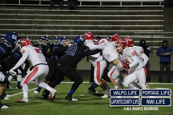FOOTBALL SECTIONALS Crown Point VS Lake Central 2019