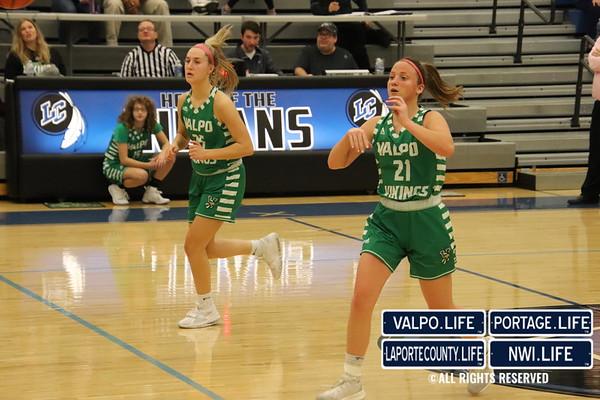 GIRLS BASKETBALL Lake Central VS Valpo 2020