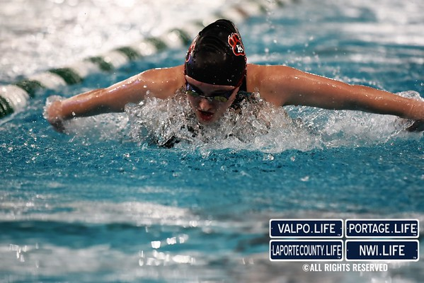 GIRLS SWIMMING SECTIONALS 2020