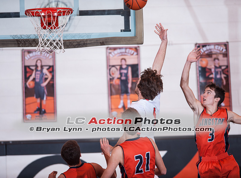 HIGH SCHOOL BASKETBALL: Kingston at LCHS