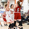 Christa Angelous,LCHS Girls Basketball #10,sophmore, Faith Simmons,LCHS Girls Basketball #33,senior,
