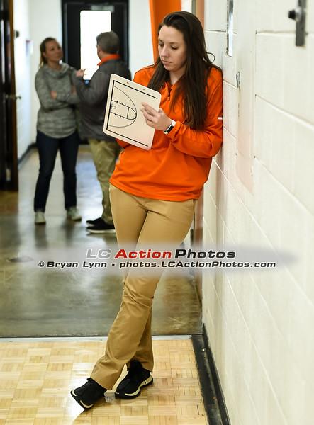 Stephanie Guth,LCHS Girls Basketball assistant coach,