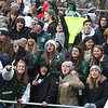 Billerica fans at Billerica vs Chelmsford Thanksgiving Day football. (SUN/Julia Malakie)