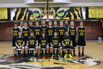Gilbert Tigers Freshmen Basketball 2013-2014 9615