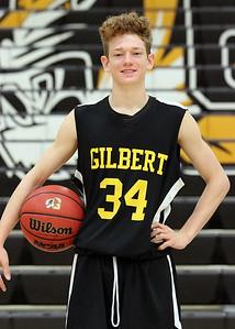 2018-2019 Gilbert Boys Basketball Team and Individual