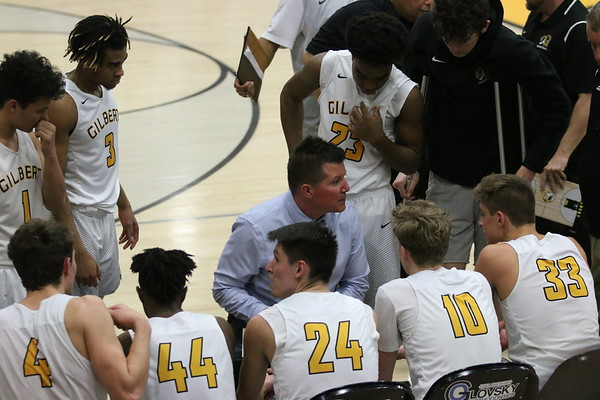 2018-2019 Gilbert Boys Basketball vs Williams Field 2-15-19