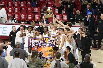 2018-2019 State Champion Gilbert Boys Basketball vs Millennium 2-25-19