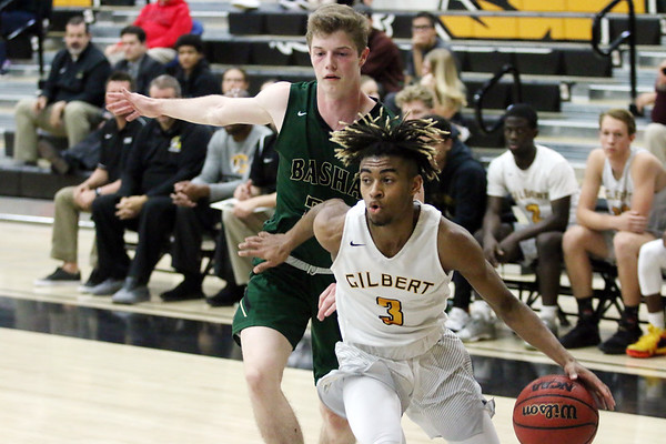 2018-209 Gilbert Boys Basketball vs Basha 11-20-18