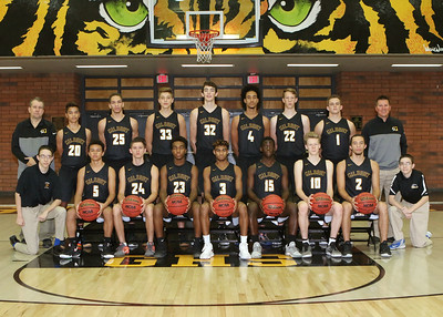 2017-2018 Gilbert Boys Basketball Team and Individual Pictures