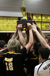 2012 GHS Boys Volleyball State Champions vs Brophy 5-13-12