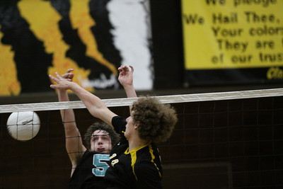 2013 GHS Boys Volleyball State Championship vs Highland 5-11-13