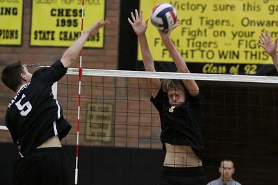 2013 GHS Boys Volleyball vs Hamilton 4-09-13