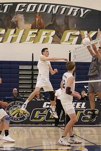 2019 Casteel Boys Volleyball vs Horizon Honors 4-2-19